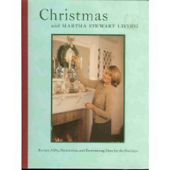 Image for Christmas with Martha Stewart living Recipes, Gifts, Decorations, and Entertaining Ideas for the Holidays