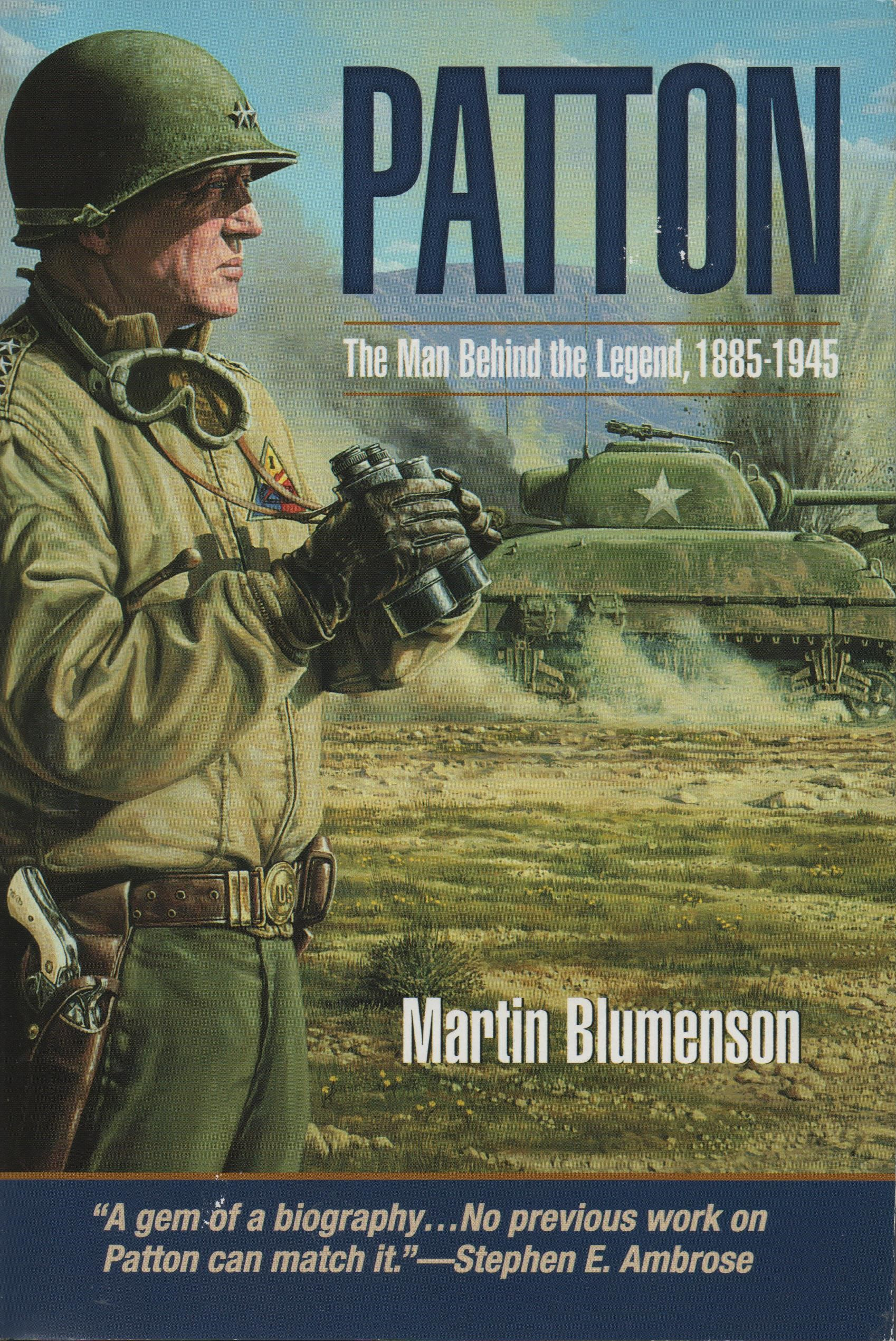 Image for Patton The Man Behind the Legend, 1885-1945