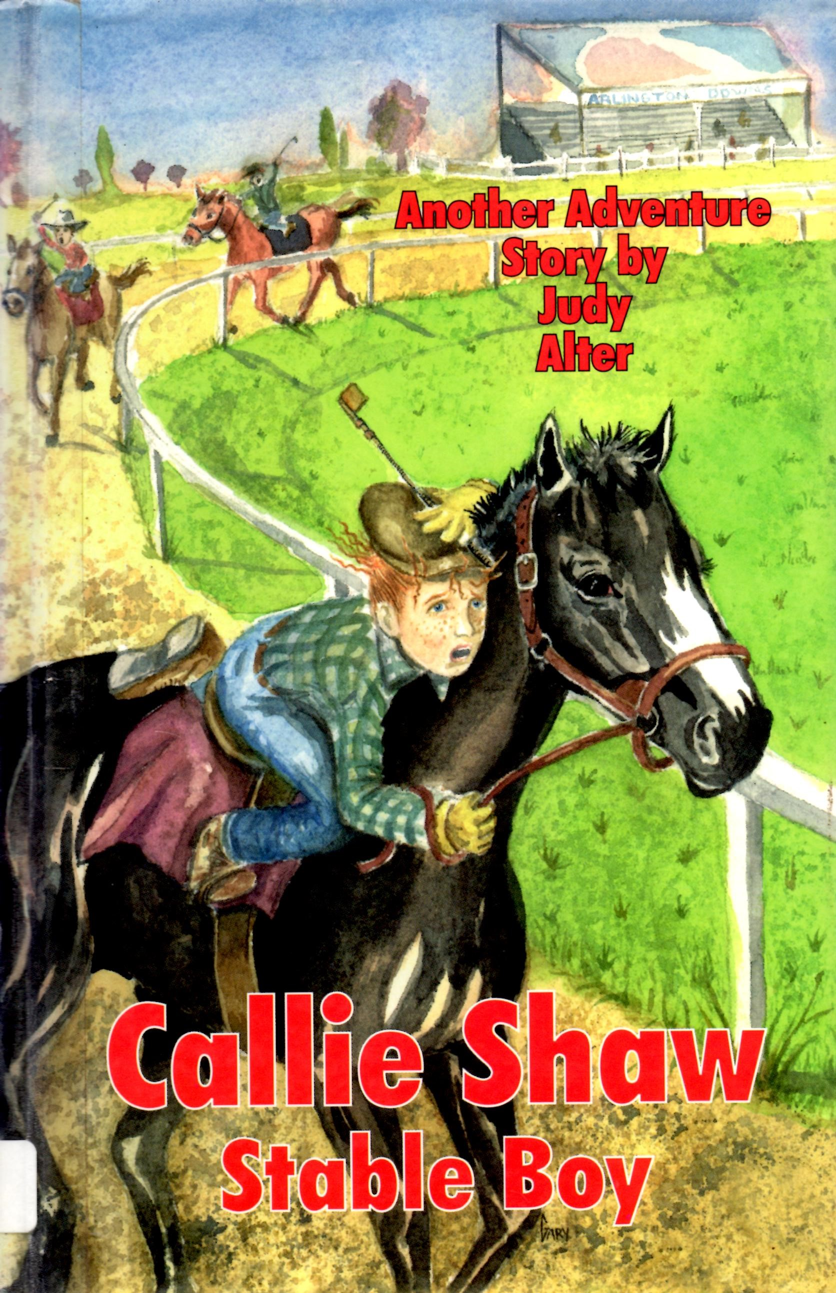 Image for Callie Shaw, Stableboy A Novel