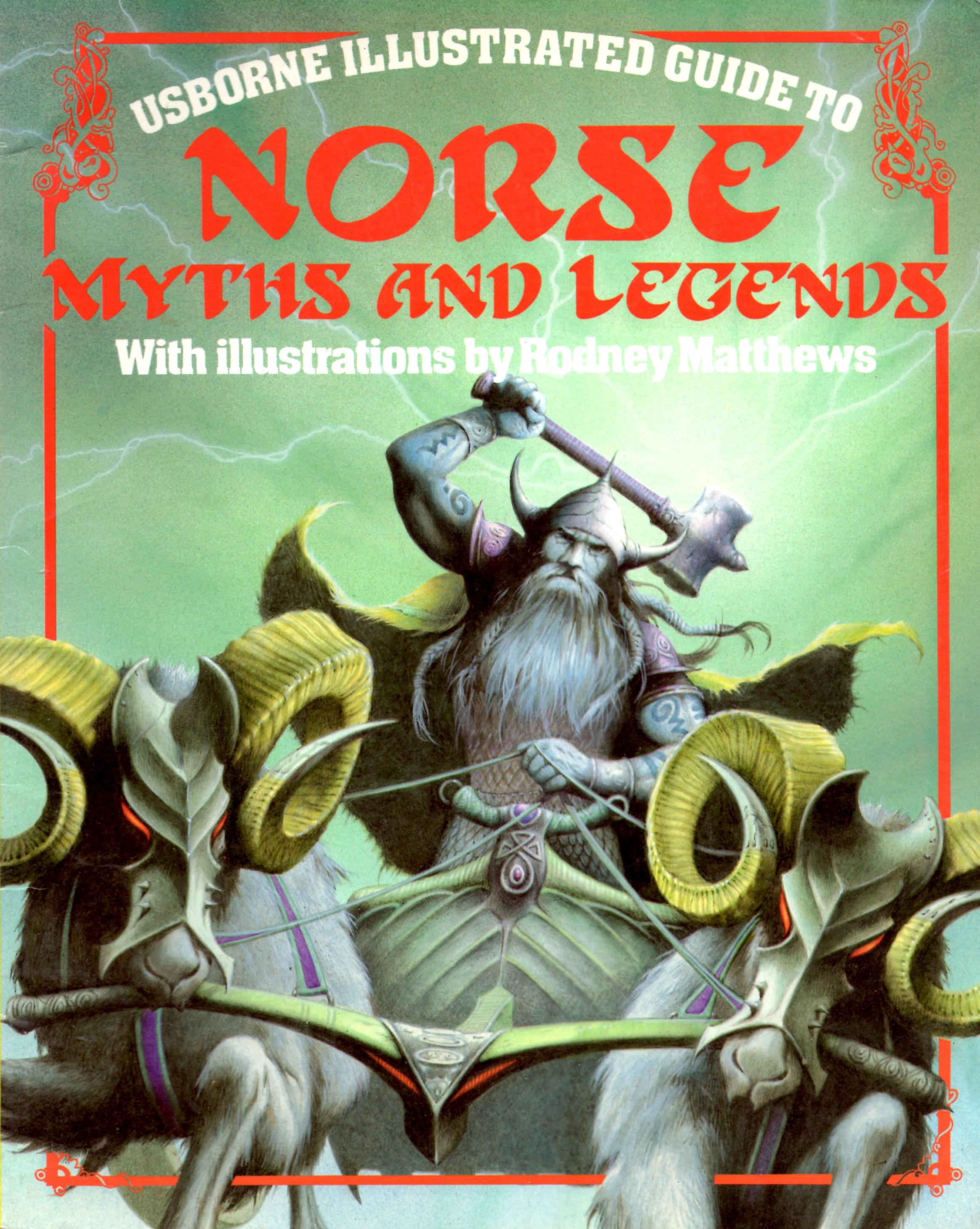 Image for Usborne Illustrated Guide to Norse Myths and Legends