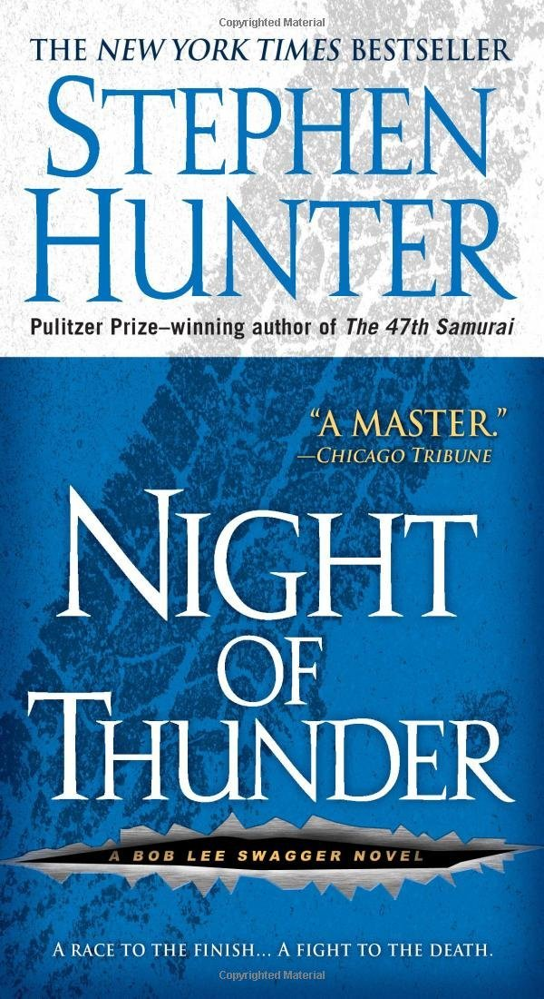 Image for Night of Thunder: a Bob Lee Swagger Novel