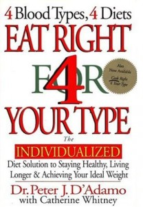 Image for Eat Right 4 Your Type: the Individualized Diet Solution to Staying Healthy, Living Longer & Achieving Your Ideal Weight
