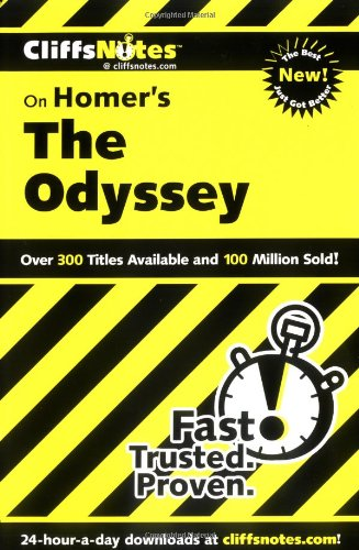 Image for Cliffsnotes on Homer's the Odyssey